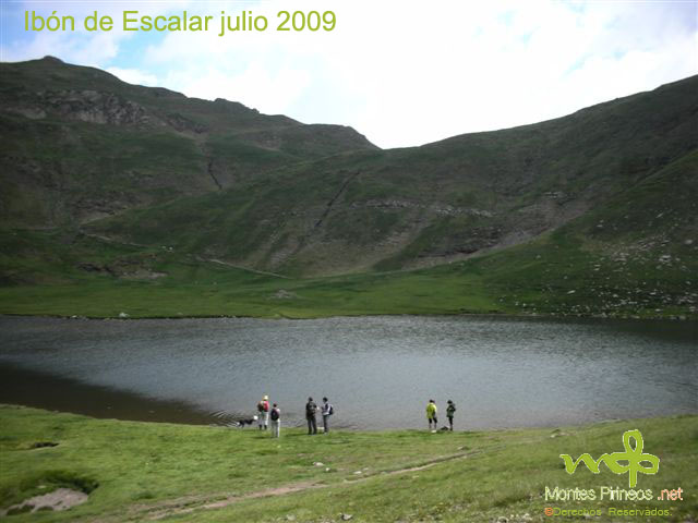 Ibón de Escalar julio 2009